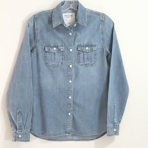 Mossimo Supply Co. Denim Shirt, Sz XS